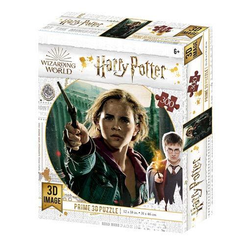 Prime 3D- Redstring-Puzzle lenticulaire Harry Potter Hermione Granger Bataille 300 pièces (Effet 3D), lenticular Pott