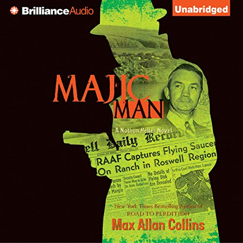 Majic Man audiobook cover art