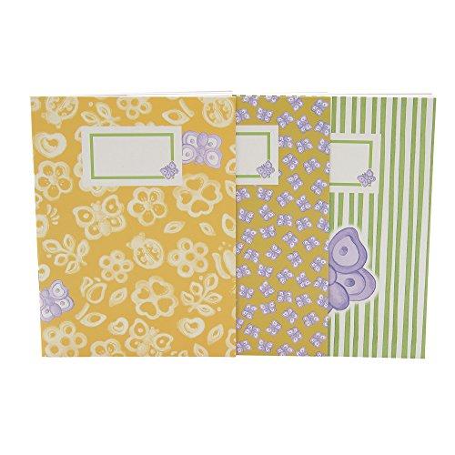 THUN Everyday Set 3 Notebook A6 Butterfly, Ceramica, Variopinto