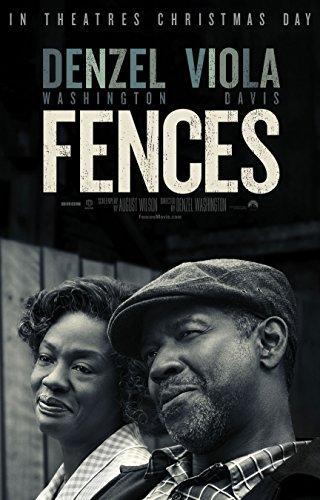 Fences Movie Poster Limited Print Photo Denzel Washington, Viola Davis Size 24x36 #1