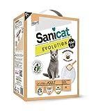 Brand New Sanicat evolution 6 L: evita gli odori indesiderati combinando clumping proprietà di minerali con bio-Yucca, enzimatici azione.