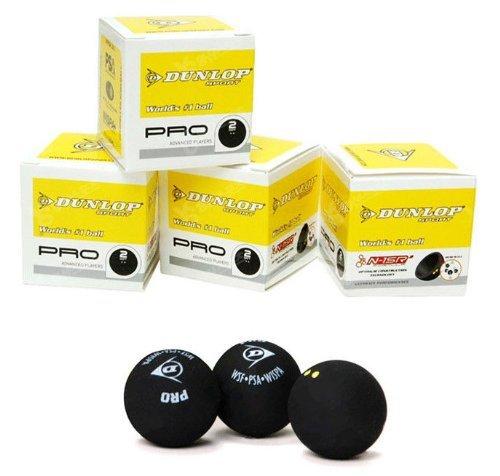 Sportsends Dunlop Squash Balls - Alle Arten mit Variety Pack (3er Pack) (Pro *)