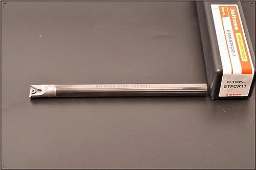 discount 1pcs C10K-STFCR11 2021 CNC lathe solid carbide turning tool holder boring bar , Tungsten steel shock tool holder , Tungsten steel 2021 shock alloy Arbor , holder diameter 10 mm, holder total length 125 mm outlet online sale