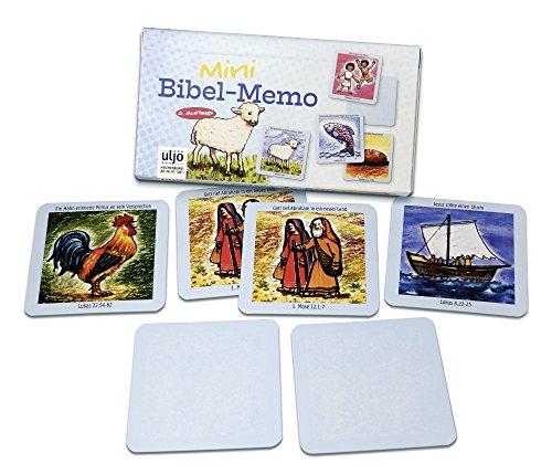 °° Biblisches Memory für unterwegs - Gedächtnistraining mit 15 Kartenpaaren