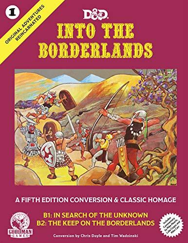 Goodman Games Original Adventures Reincarnated #1 - Into the Borderlands, GMG5001