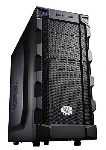 Cooler Master RC-K280 Caja para ordenador de sobremesa ATX, altavoces incorporados, indicadores LED, negro
