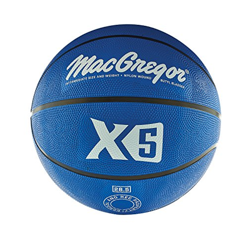 %21 OFF! MacGregor Multicolor Basketballs (Intermediate Size, Blue)
