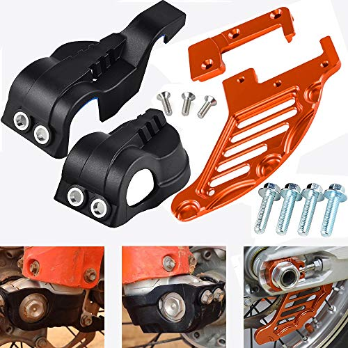 Jiewei Premium Quality Tenedor de la plataforma de la pierna de la pierna cubierta de freno trasero cubierta de protección para K.T.M 125 150 250 350 400 450 500 SX SXF EXCX XC XCF XCW XCFW HUS.QVA.RN