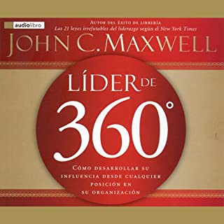 Lider de 360 [360 Degree Leader] audiobook cover art