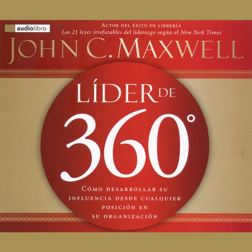 Lider de 360 [The 360 Degree Leader] audiobook cover art
