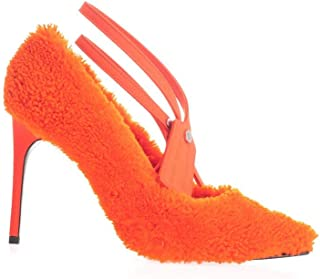 OFF-WHITE Luxury Fashion Womens OWIA187F19E850501900 Orange Heels | Fall Winter 19