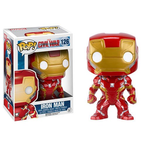 Funko 7224 Pop Marvel: Captain America 3 - Iron Man