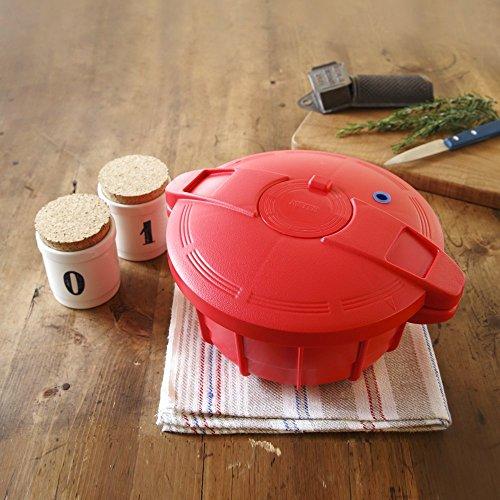 マイヤー電子レンジ圧力鍋パンプキンオレンジ2.3L簡単調理時短MPC-2.3PO