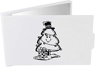 'Present & Christmas Tree' Compact / Travel / Pocket Makeup Mirror (CM00024276)