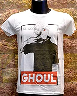 Ghoul, maglia bianca, t shirt, felpa, canotta, Ken Kaneki