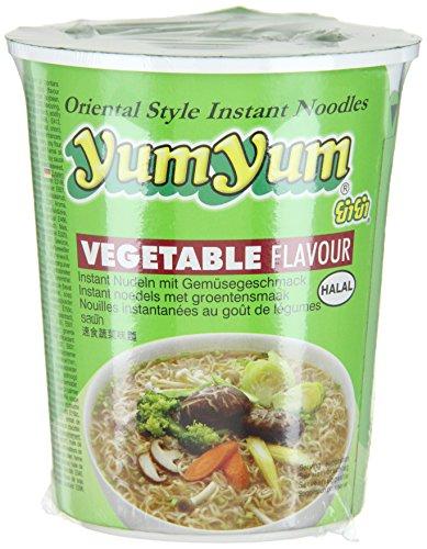 Yum Yum Instant Nudeln Gemüse Cup 70g (1 x 70 g)