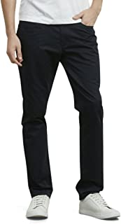 Men's 5-Pocket Slim-Fit Sateen Pant