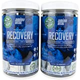 Amino VITAL Rapid Recovery - Fermented Vegan BCAAs Amino Acid Powder + Complex Carbohydrates | Reduce Muscle Soreness | Twin Pack | 28 Stick Packs