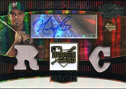 Nelson Cruz Autographed Topps Triple Threads Rookie Card #7/125 - Baseball Slabbed Autographed Cards