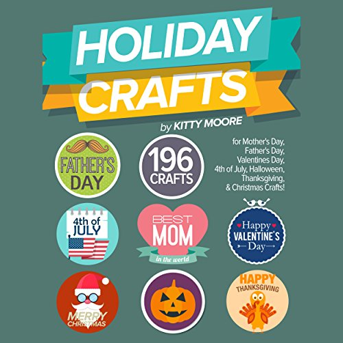 Holiday Crafts Audiobook By Kitty Moore cover art