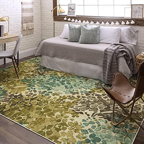 Cute floral area rug