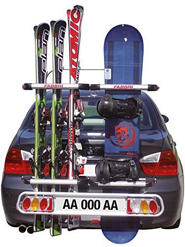 mb-m Fabbri 6201960 Exclusiv Ski & Board Träger Kupplungsträger