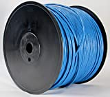 Cat6 Plenum 1000ft Blue  Easy Pull Reel Packaging  Ethernet Cable   Solid Bare Copper   UTP   CMP   23AWG Network Cable
