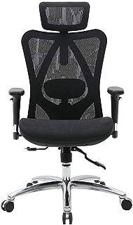 MHIBAX Gaming Chair Mesh Design Chaise de bureau de soutien de taille réglable et respirante