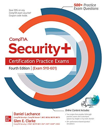 CompTIA Security+ Certification Practice Exams, Fourth Edition (Exam SY0-601) (English Edition)