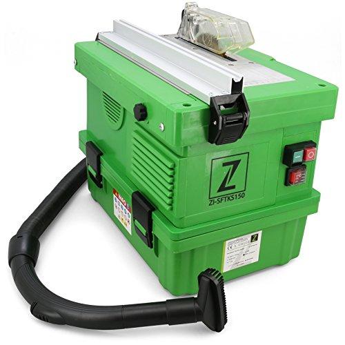 Tischkreissäge ZISFTKS150-1100 Watt, staubfrei