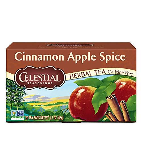Celestial Seasonings Herbal Tea Cinnamon Apple Spice 20 Count