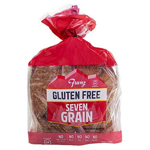 Franz Bakery Gluten Free Seven Grain Bread- 2 Pack (2 x 1lb 4oz)