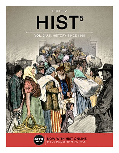 HIST Online, 1 term (6 months) Printed Access Card for Schultz's HIST, Volume 2, 5th