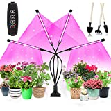 Niello Upgrade Plant Grow Light, 80LEDs Grow Lamp Full Spectrum with Auto ON &Off Timer 3/9/12H for Indoor...