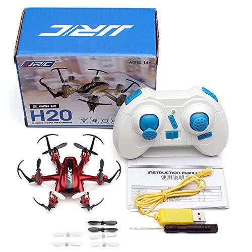 LSQ Mini RC Drone 6 Achsen Dron Micro Quadrocopter Professionelle Drones Hexacopter Headless Modus Hubschrauber Fernsteuerungsspielwaren,Rot