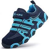 SITAILE Kinderschuhe Outdoor Sport Sneaker Wander Schuhe Turnschuhe für Kinder Jungen Mädchen,blau,EU 30