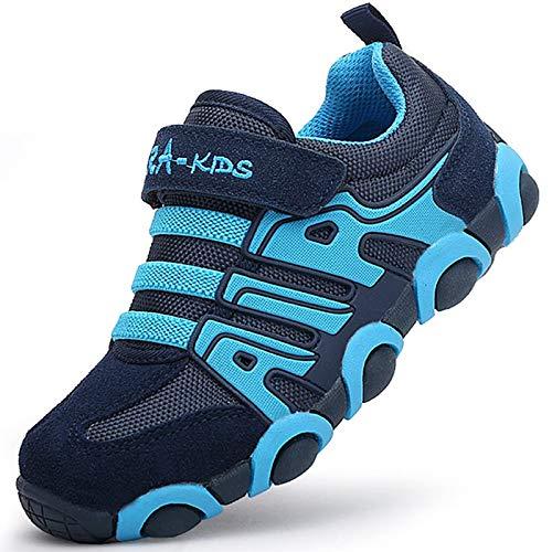 SITAILE Kinderschuhe Outdoor Sport Sneaker Wander Schuhe Turnschuhe für Kinder Jungen Mädchen,blau,EU 27