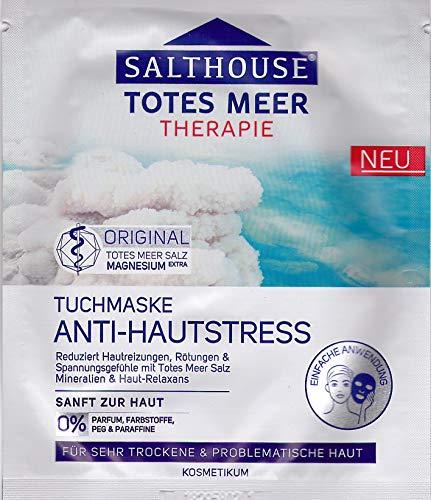 Salthouse Totes Meer Tuchmaske ANTI-HAUTSTRESS 1 Stück