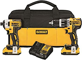 Dewalt 20V MAX XR Brushless Impact Driver and Hammer Drill Combo Kit
