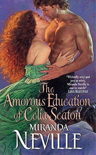 Image of The Amorous Education of Celia Seaton (The Burgundy Club) by Miranda Neville (2011-07-26)