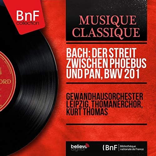 Gewandhausorchester Leipzig, Thomanerchor, Kurt Thomas