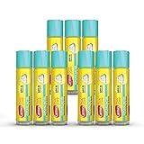 Carmex Daily Care Moisturizing Lip Balm with SPF 15, Cupcake Batter Lip Balm Sticks, 0.15 OZ Each - 9 Count