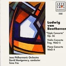 Beethoven: Triple Concerto in C, Op. 56 / Violin Concerto Fragment in C, Woo 5 / Piano Concerto, Woo 4