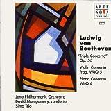 Beethoven: Tripelkonzert Op. 56 / Violinkonzert WoO 5 / Klavierkonzert WoO 4 -  Montgomery
