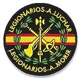 Parche LEGIONARIOS A Morir para Caza, Pesca, Camping, Outdoor, Supervivencia y Bushcraft Albainox 30508 + Portabotellas de regalo