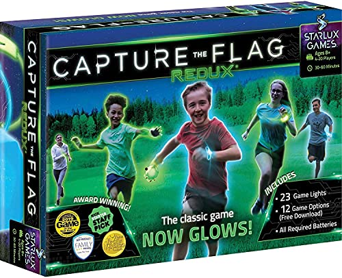 Capture the Flag Backyard Game for Teens