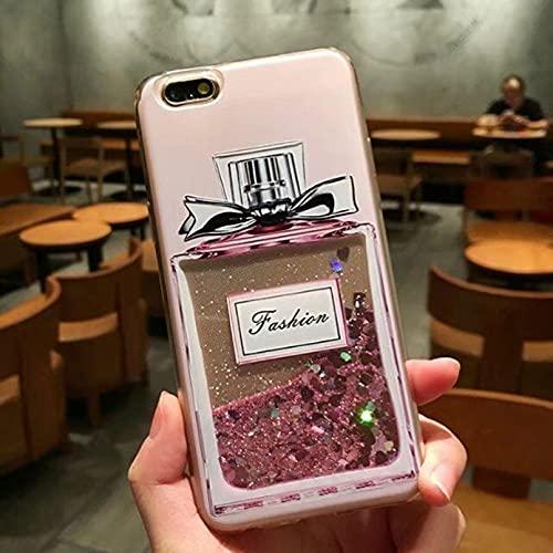 Love Heart Stars Glitter Stars Caso para iPhone 11 Pro XS Max XR X 7 8 6S Plus 5s SE 2020 Dynamic Liquid Quicksand suave TPU cubierta