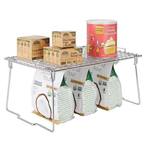 mDesign Estante apilable para almacenaje de cocina – Repis