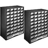 tectake 403515 Set 2x Módulos Clasificador para Piezas Pequeñas, 41