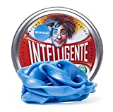 Intelligente Knete Brilla en la Oscuridad (Azul neón) sin BPA ni Gluten.